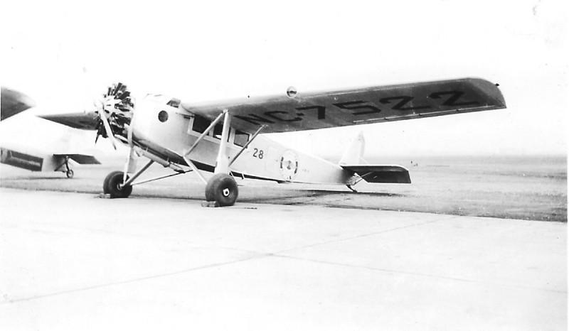 Northwest Airways, Inc. 1929 Hamilton H-47 Metalplane S/N 45 - NC-7522