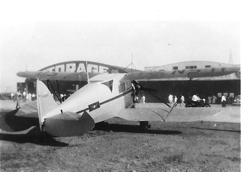 September 8, 1937 - 1930 Waco C Standard Cabin Class Series.
