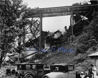 1937 Maybeury, WV Train Wreck