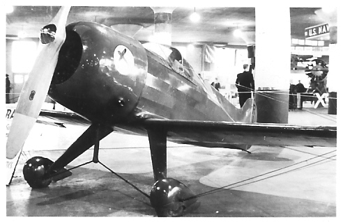 February 15, 1938 - Pobjoy Racer at Chicago Air Show
