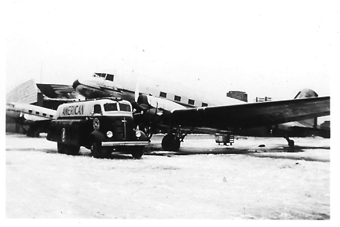 February 15, 1938 - American Airlines DC-3 - Chicago, IL