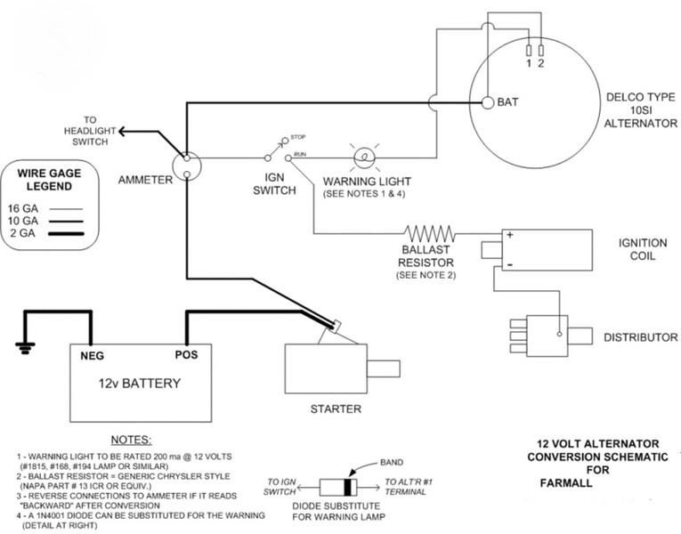 Farmall 12V Conversion