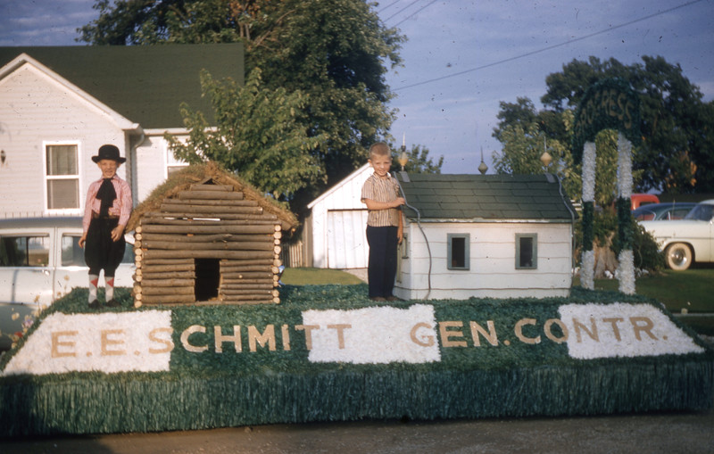 Erwin E. Schmitt Construction Company Float