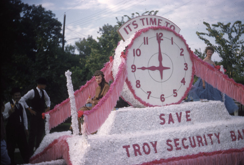 Troy Security Bank Float