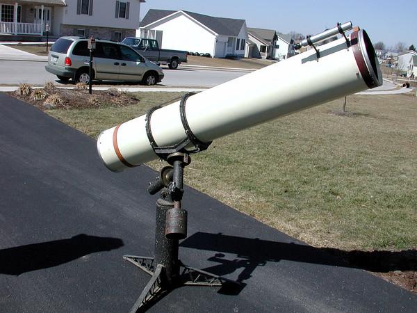 1958 Cave 10 inch f-7 Telescope