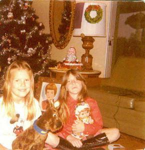 Cathy Stolins and Christy Nebeker; 1978
