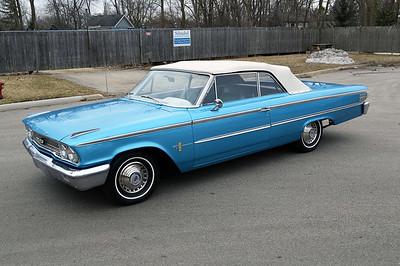 1963 Ford Galaxy convertible