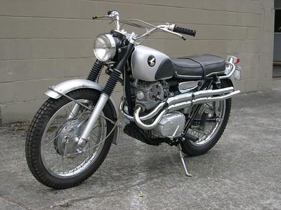 1967 CL77 Honda 305 scrambler
