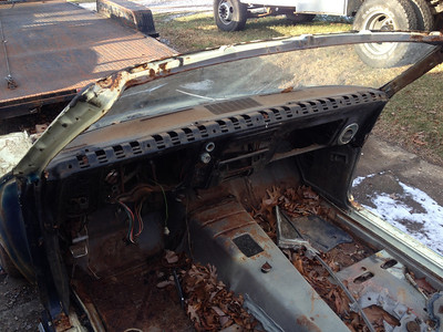 1968 Camaro Convertible Project
