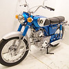 1968 Honda CD175 Sloper :