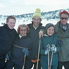 Group photo in Nordmarka:  Knut Skrede, Kari Sveen, Tim Bliss, Judy, Ola Sveen