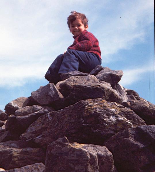 1974 Matthew near Kari and Ola's cabin