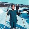Spring skiing Nordmarka 1970