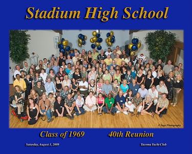 1969 Stadium HS 40th Reunion
