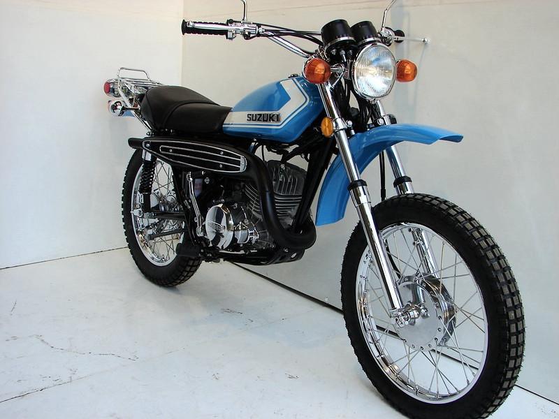 1972 Suzuki TS250 - moman111