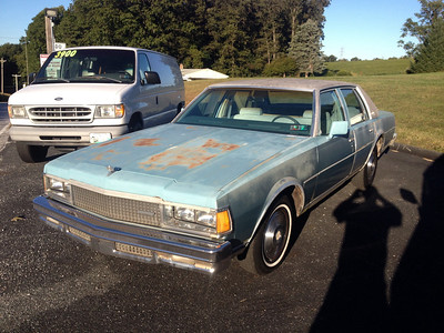 1977 Chevy Caprice 4 door