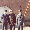 Tom Mozzer, Chief John Rivosa and myself on graduation day