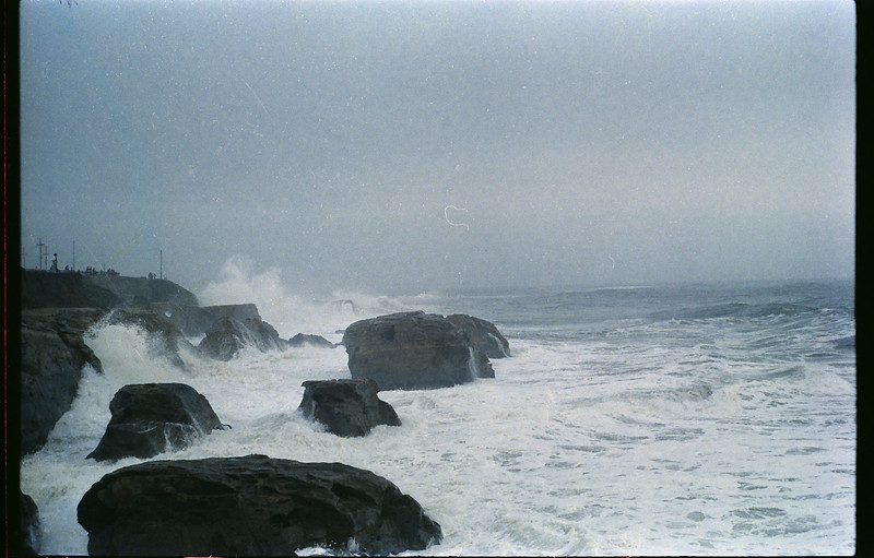 December, 1981 - the first of three big storms to move in.
