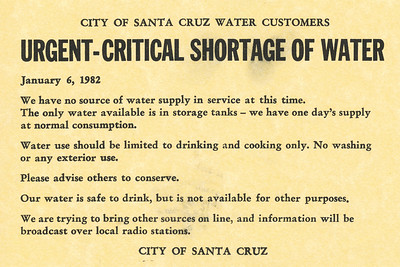 1982 Santa Cruz Storm and flood