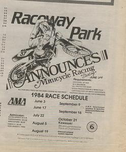 RPMX, Mini, Schedule, 84