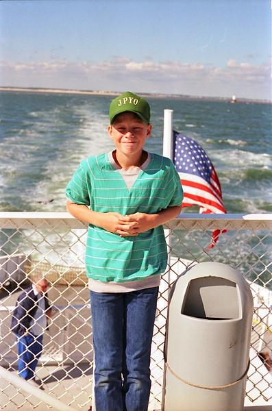 1988 Me, Paul, Randy DeKroney Cape May:Lewes DE ferry - 05