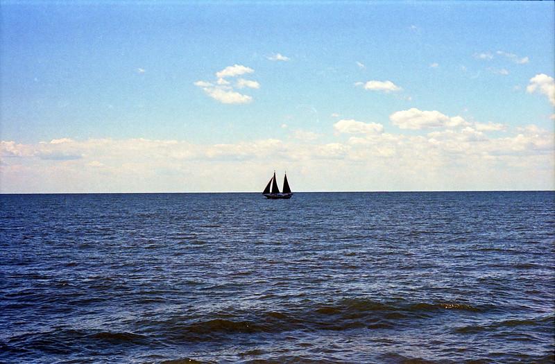 1988 Me, Paul, Randy DeKroney Cape May:Lewes DE ferry - 11