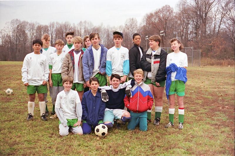 1988 Maryland, JPYO Soccer - 3