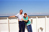 1988 Me, Paul, Randy DeKroney Cape May:Lewes DE ferry - 07