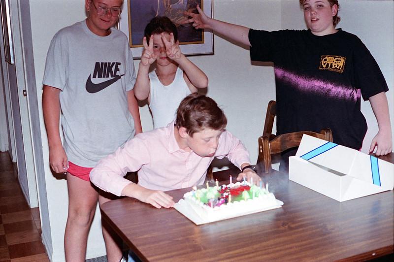 1989 Glen Burnie, MD Paul 14th Birthday - 2