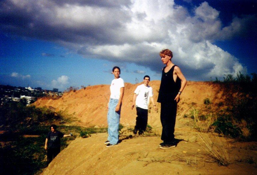 Dan, Rose, Dave, & Bryan On The Mountain