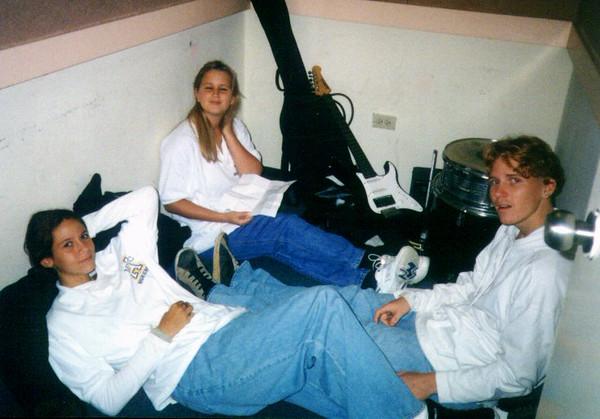 Rose, Dani, & Bryan In The Jam Room