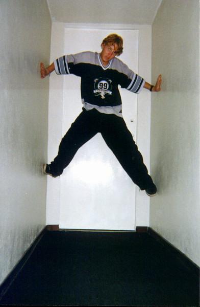 Bryan High In Rose's Hallway