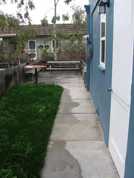 Patio access from kitchen area