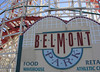 Belmont Park only a 15 minute walk from the apartment