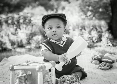 Cutest Kid Ever bw (1 of 1)