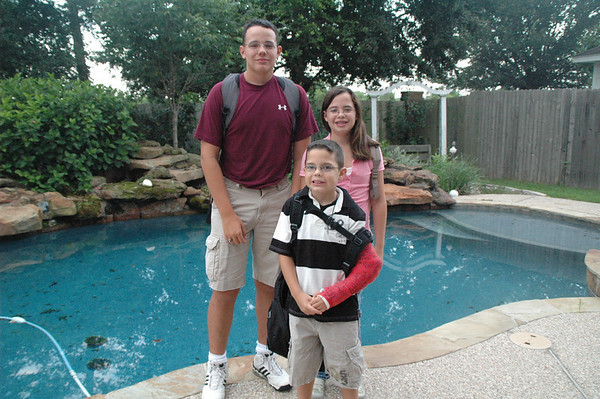 1st day of school 2007