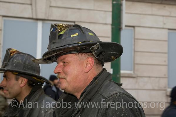 Squad 5 fireman Bob McCrea