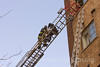 2-11 1040 W. HOLLYWOOD 3/2/09 : CFD E-55 Fireman Sid Bleustein & SEVERAL OTHER LADDER RESCUES