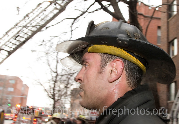 Squad 5 fireman Dave Leon