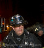 CFD Special Operations fireman Bob McCrea of Squad 1 after coming out... 2-11 Alarm 1915 S. Homan, 1/11/09