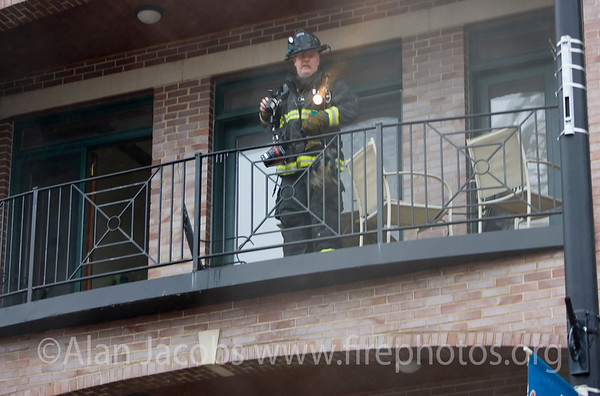 Squad 1 fireman Bob McCrea