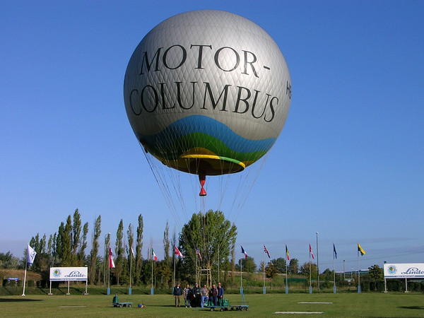 2 Days of Gas Ballooning, Germany to Czech & back, September 2004