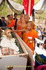 Monk, Samanen, Pours Coconut Water On Corpse