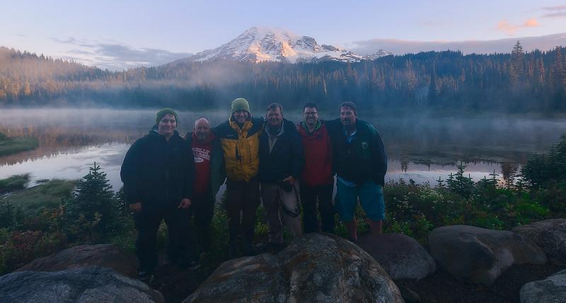 July 2013 Star Photography Workshop Group - Mount Rainier National Park