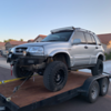 "Altered Ego 4.5"" lift kit installed on a 2000 Suzuki Grand Vitara that has a 2"" body lift"