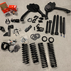 "Altered Ego 4.5"" Lift Kit laid out for a 2000 Suzuki Grand Vitara"