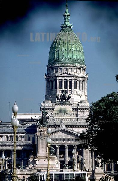 Buenos Aires: Kongress - concreso - congress