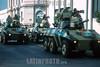 Militär in Asuncion / army / fuerza armada
