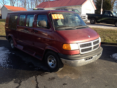 2001 Dodge conversion van