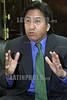 Peru :  Alejandro Toledo presdiente del pais en entrevista el 22 de Noviembre de 2001 . / Peru: President Alejandro Toledo. / Peru: Der peruanische Präsident  Alejandro Toledo. <br /> <br /> © Niceforo Ruiz/LATINPHOTO.org